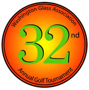 32nd Annual WGA Golf Tournament Logo