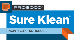 PROSOCO Sure Klean Masonry Cleaning Products