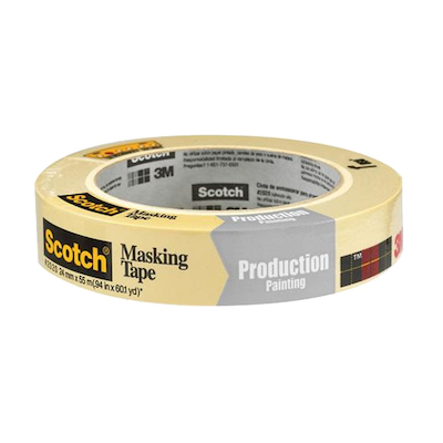 3M TAN TAPE 2020 Scotch General Purpose Masking Tape 2020