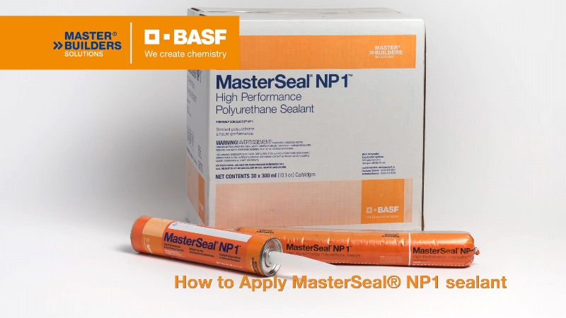 How To Apply MasterSeal® NP 1 Sealant
